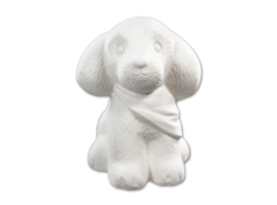 "Individual Ceramics ""To Go"" - Adorable Dog [click to enlarge]"