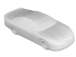"Individual Ceramics ""To Go"" - Stock Car [click to enlarge]"