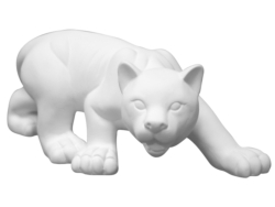 "Individual Ceramics ""To Go"" - Panther on the Prowl [click to enlarge]"
