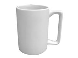 "Individual Ceramics ""To Go"" - Square Handle Mug"