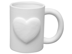 "Individual Ceramics ""To Go"" - Love Mug [click to enlarge]"