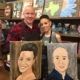 """Pre-sketched Canvases """"To Go"""" - 'Paint your Person' Pre-Sketched Canvas"""