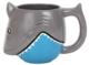 """Individual Ceramics """"To Go"""" - Shark Mug"""