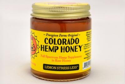 Colorado Hemp Honey - Lemon